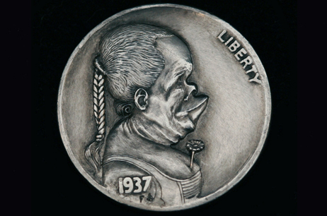 """Emotions of Renaissance 2""  Hobo nickel"