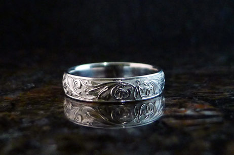 Wedding Ring white gold