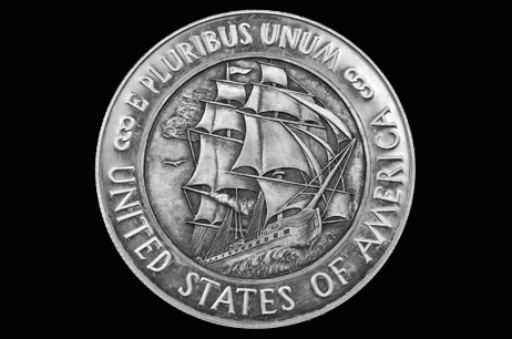 """Old Ironsides"" U.S. Constitution Dollar"